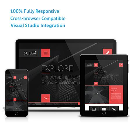 Buildr Asp Mvc Responsive Template Visual Studio Marketplace