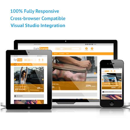 EightOrange - Ecommerce ASP.NET and MVC Responsive Template - Visual ...