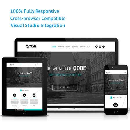 Qode asp mvc responsive template visual studio marketplace pronofoot35fo Gallery