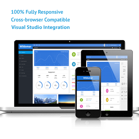 wildomar - asp and mvc responsive admin template - visual, Powerpoint templates